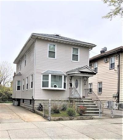 Bronx Single Family Home For Sale: 2850 Harrington Avenue