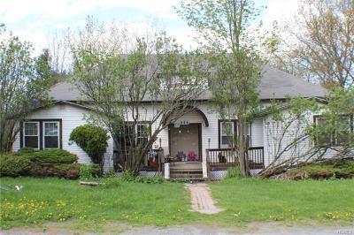 Wurtsboro Single Family Home For Sale: 204 Mt Prosper Road