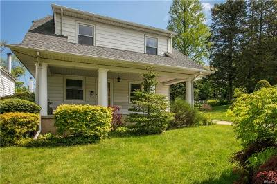 Yonkers Single Family Home For Sale: 107 Aka 109 North Holls Terrace