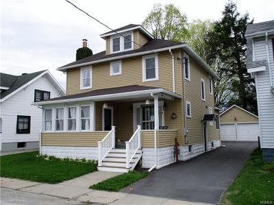 Port Jervis Single Family Home For Sale: 5 Schultz Street