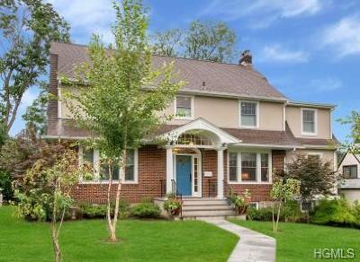 New Rochelle Single Family Home For Sale: 3 Wykagyl Terrace