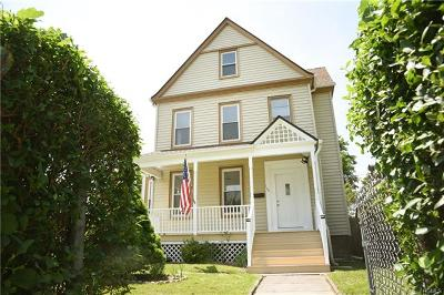 Peekskill Single Family Home For Sale: 176 Depew Street