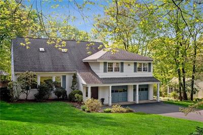 Chappaqua Single Family Home For Sale: 19 Rose Lane