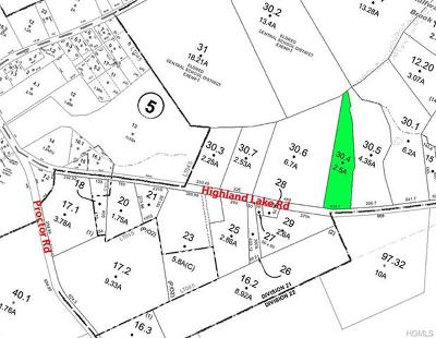 Residential Lots & Land For Sale: (30.4) Highland Lake Road