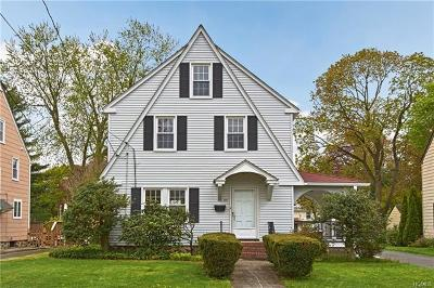 Port Chester Single Family Home For Sale: 35 Hobart Avenue