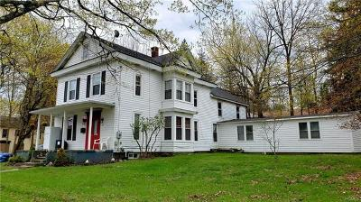 Monticello Single Family Home For Sale: 55 Clinton Avenue