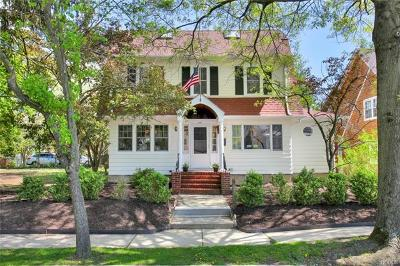 Croton-On-Hudson Single Family Home For Sale: 106 Benedict Boulevard