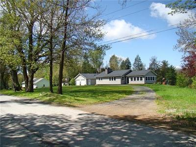 Youngsville, Jeffersonville, Callicoon Single Family Home For Sale: 185 Behr Road