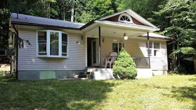 Woodridge NY Single Family Home For Sale: $85,000