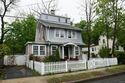 Nyack Single Family Home For Sale: 1 Ross Avenue