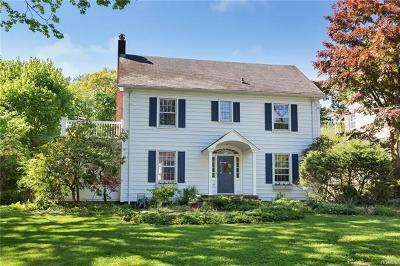 Croton-On-Hudson Single Family Home For Sale: 45 Lexington Drive