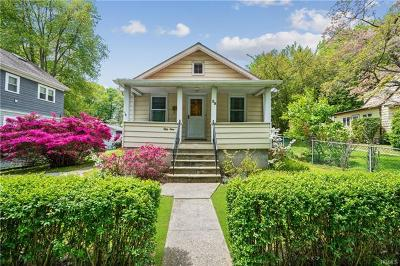 Hastings-On-Hudson Single Family Home For Sale: 59 James Street