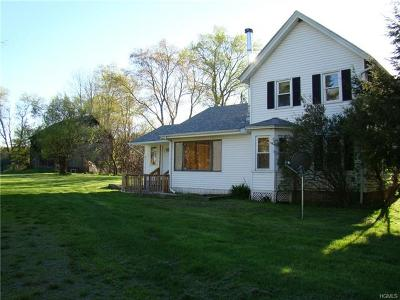 Mongaup Valley Single Family Home For Sale: 1139 State Hwy 17b