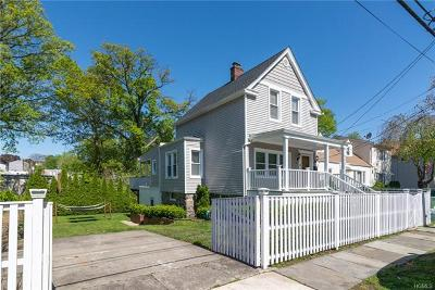 Yonkers Single Family Home For Sale: 121 Ridgewood Avenue