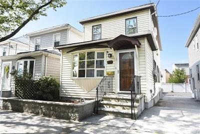 Bronx Single Family Home For Sale: 2841 Wellman Avenue