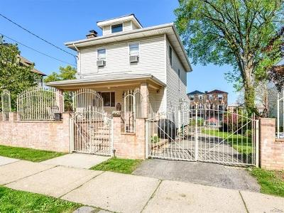 Bronx Single Family Home For Sale: 1642 Library Avenue