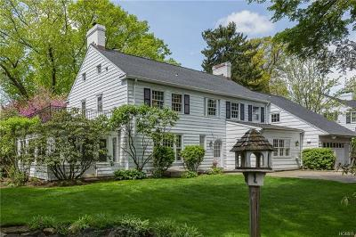 Bronxville Single Family Home For Sale: 1 Pine Terrace