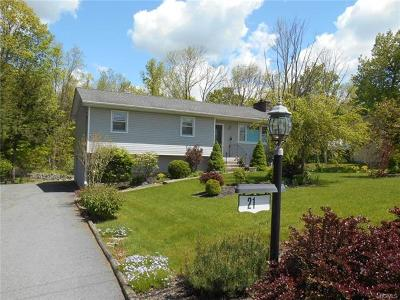 Middletown NY Single Family Home For Sale: $249,900