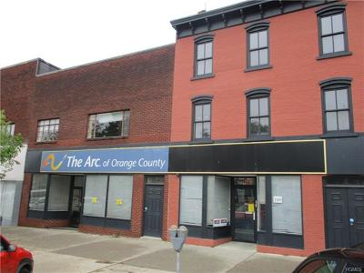 Newburgh Commercial For Sale: 245-249 Broadway