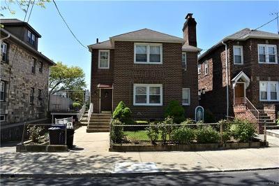 Mount Vernon Multi Family 2-4 For Sale: 32 Linden Avenue