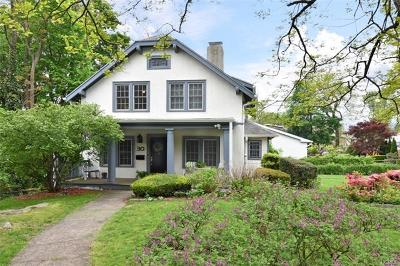 Bronxville Single Family Home For Sale: 30 Illinois Avenue