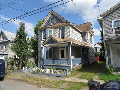 Port Jervis Single Family Home For Sale: 11 1/2 Ulster Place