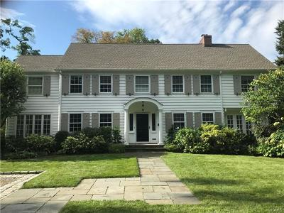 Scarsdale Single Family Home For Sale: 6 Burgess Road