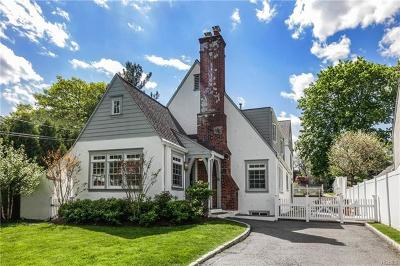 Rye Single Family Home For Sale: 2 Cowles Avenue