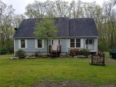 Wurtsboro Single Family Home For Sale: 25 Longspur Trail