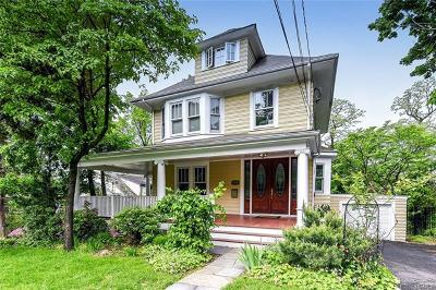 Hastings-On-Hudson Single Family Home For Sale: 117 Euclid Avenue