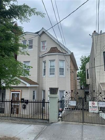 Bronx NY Multi Family 2-4 For Sale: $620,000