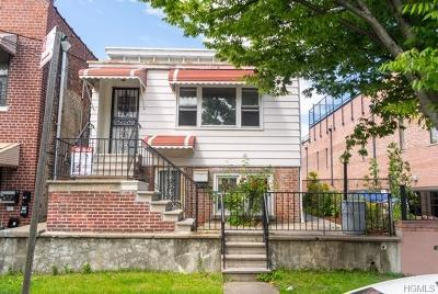 Bronx NY Single Family Home For Sale: $415,000