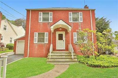 White Plains Single Family Home For Sale: 137 Orchard Street