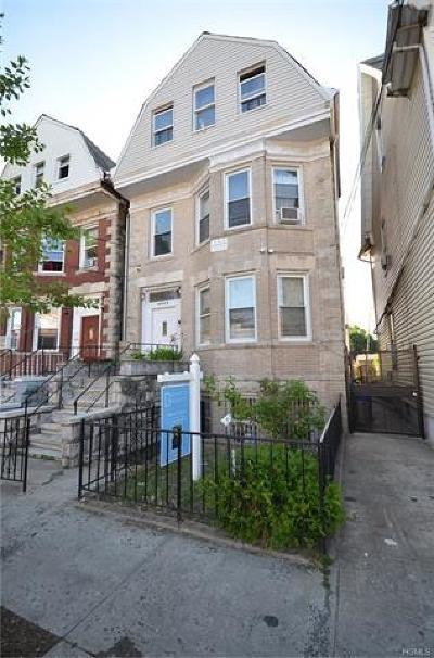 Bronx County Multi Family 2-4 For Sale: 4009 Barnes Avenue