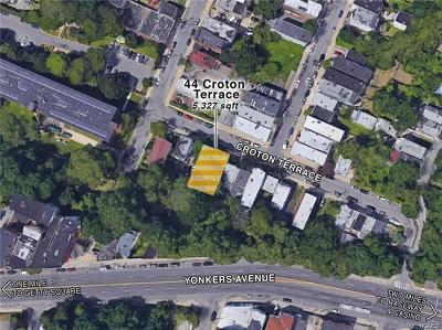 Yonkers Residential Lots & Land For Sale: 44 Croton Terrace