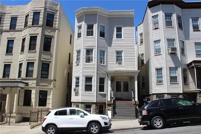 Yonkers Multi Family 2-4 For Sale: 63 Cliff Avenue