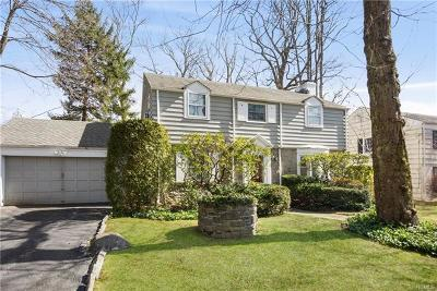 Westchester County Single Family Home For Sale: 18 Montgomery Road
