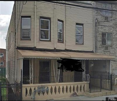 Bronx County Multi Family 2-4 For Sale: 1529 Rosedale Avenue