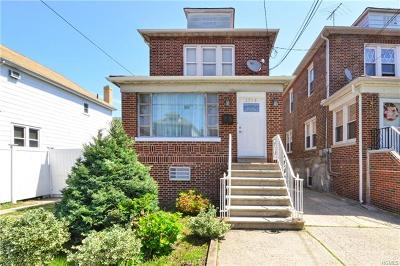 Bronx NY Single Family Home For Sale: $759,000