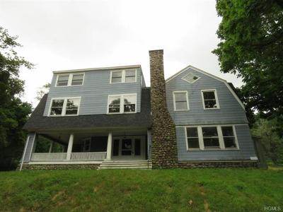 Croton Falls Single Family Home For Sale: 8 Juengstville Road