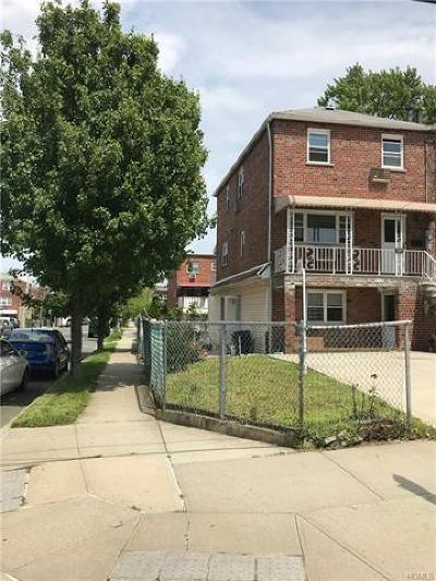 Bronx NY Multi Family 2-4 For Sale: $745,000