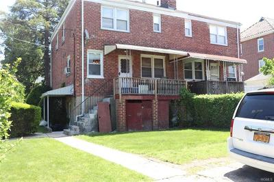 Yonkers Single Family Home For Sale: 95 Purser Place