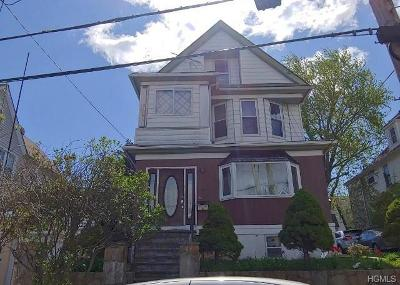 Yonkers Multi Family 2-4 For Sale: 144 Stone Avenue