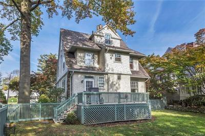 Larchmont Single Family Home For Sale: 12 Thompson Place