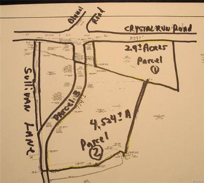 Middletown Commercial For Sale: Crystal Run Road