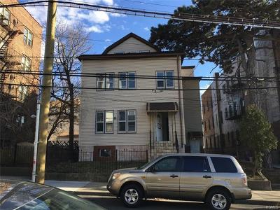 Mount Vernon Multi Family 2-4 For Sale: 10 West 4th Street