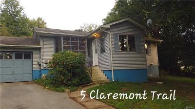 Monroe Single Family Home For Sale: 5 Claremont Trail