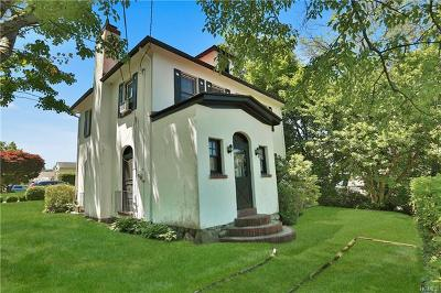 Ossining Single Family Home For Sale: 33 Lincoln Avenue