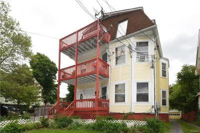 Dutchess County Multi Family 2-4 For Sale: 21 Corlies Avenue