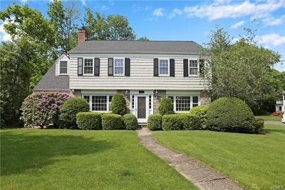 Scarsdale Single Family Home For Sale: 115 Brewster Road